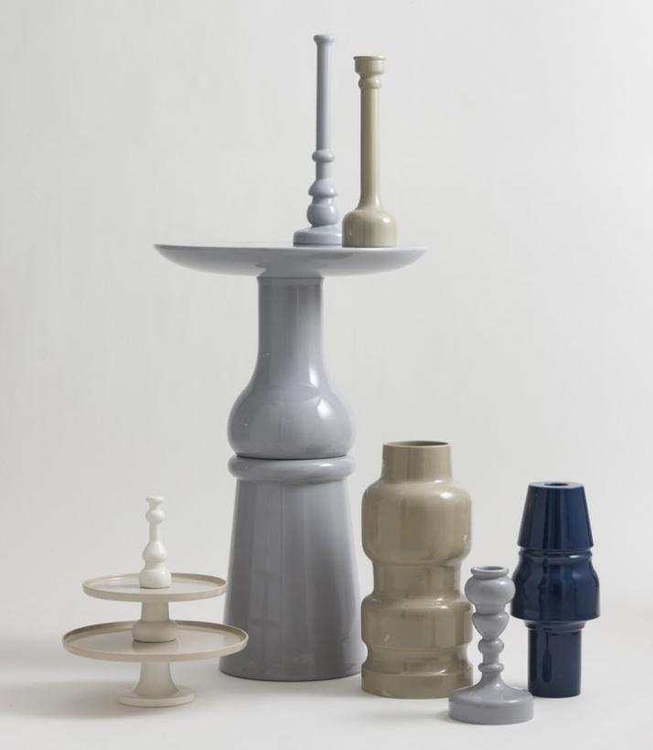 """Issima collection"" by Sam Baron for Bosa Ceramiche, Year 2009."