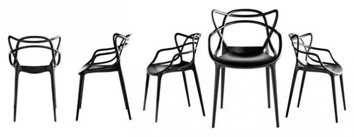 MASTERS by Philippe Starck with Eugeni Quitllet // Image Courtesy of Kartell