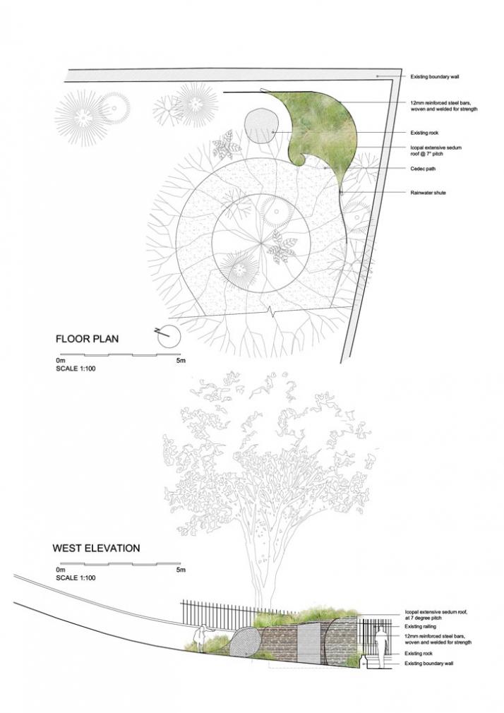 floor plan, Courtesy of Groves-Raines Architects