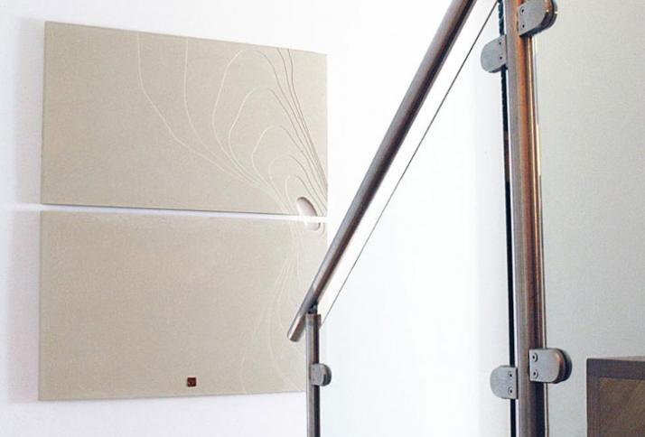 Plateau, 122 x 100 x 1.8cm (Contour Collection), Material: Polished Concrete // © Petr Weigl