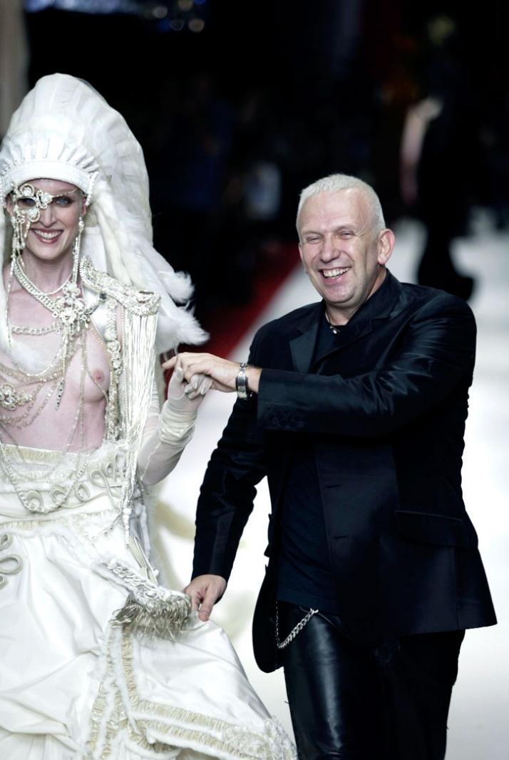 Jean Paul Gaultier Haute Couture // A/W 2002-03 photo © Yannis Vlamos, Pixelformula.com