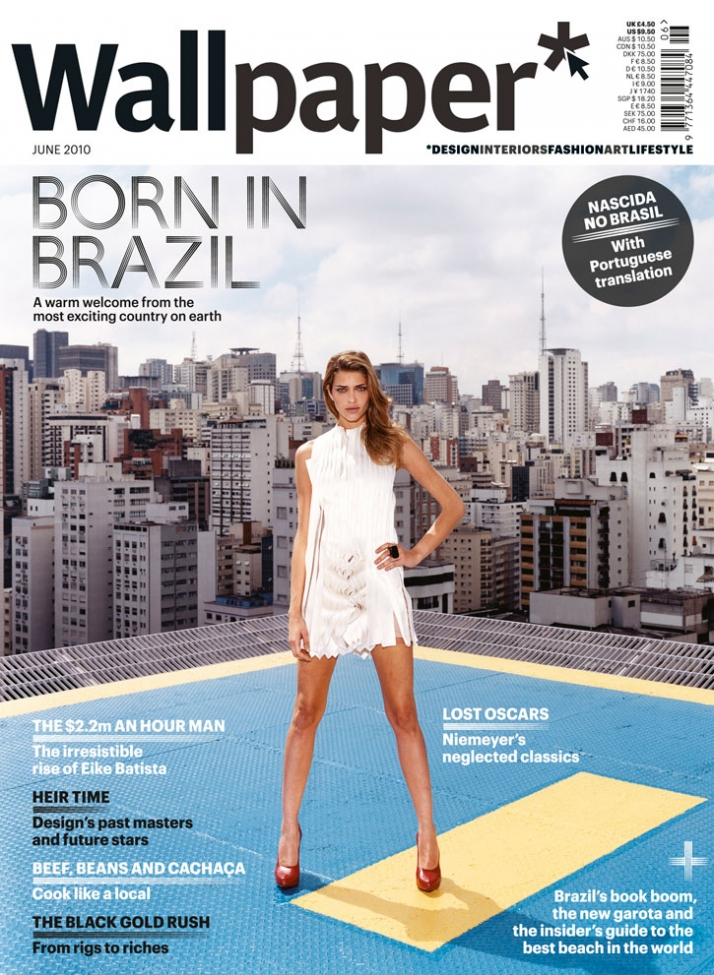 BORN IN BRAZIL, JUNE 2010, cover No1 //  © Wallpaper*