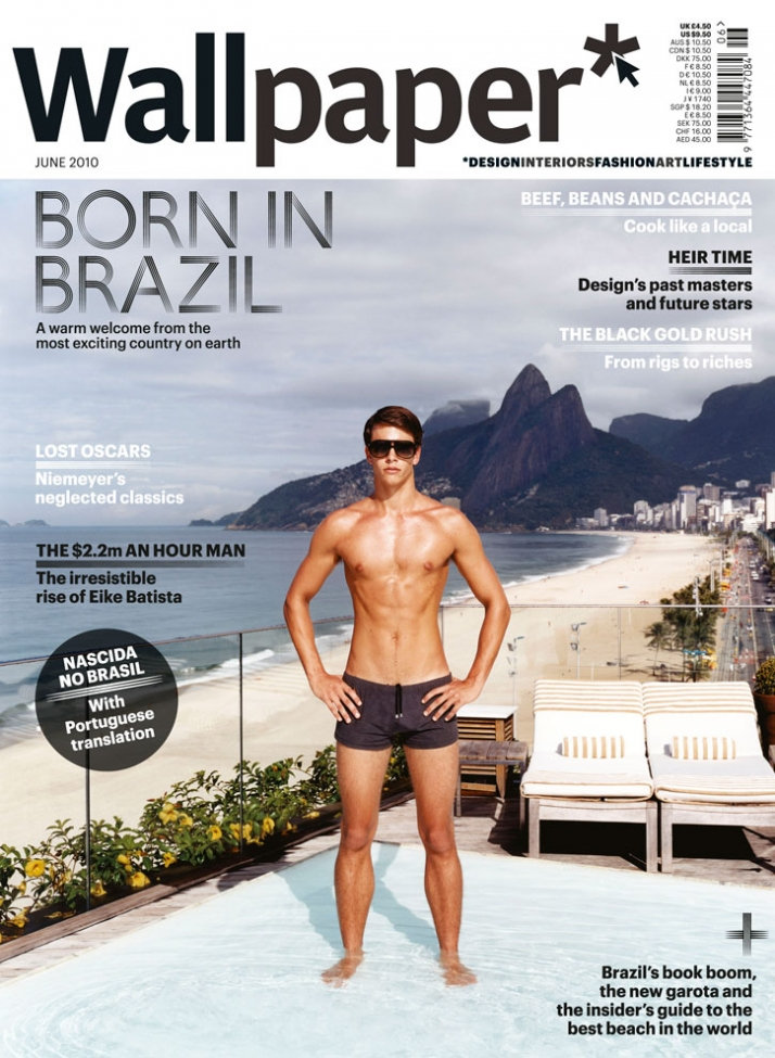 BORN IN BRAZIL, JUNE 2010, cover No2 //  © Wallpaper*