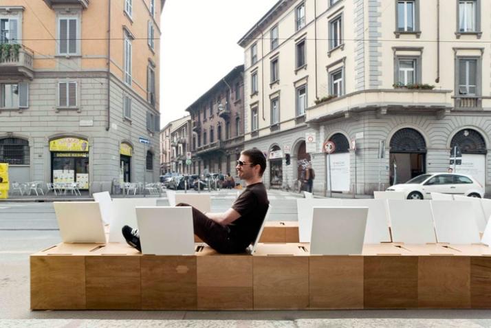 Set A Seat by Miro Surka from Slovakia, photo by  Matteo Girola