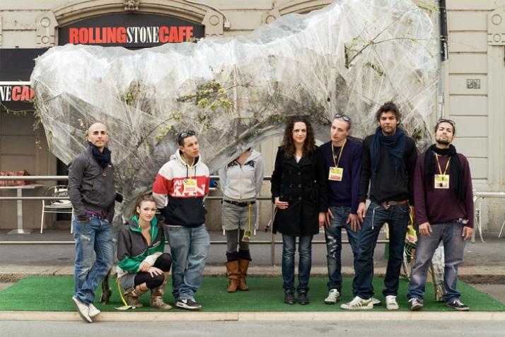 O2 Park by the Italian group C_uno: Jaim Telias, Ilario Paiano, Francesco Paone, Luca Pellegrini, Eleonora Piciucchi, Shanti Tommaso Piovella, Valeria