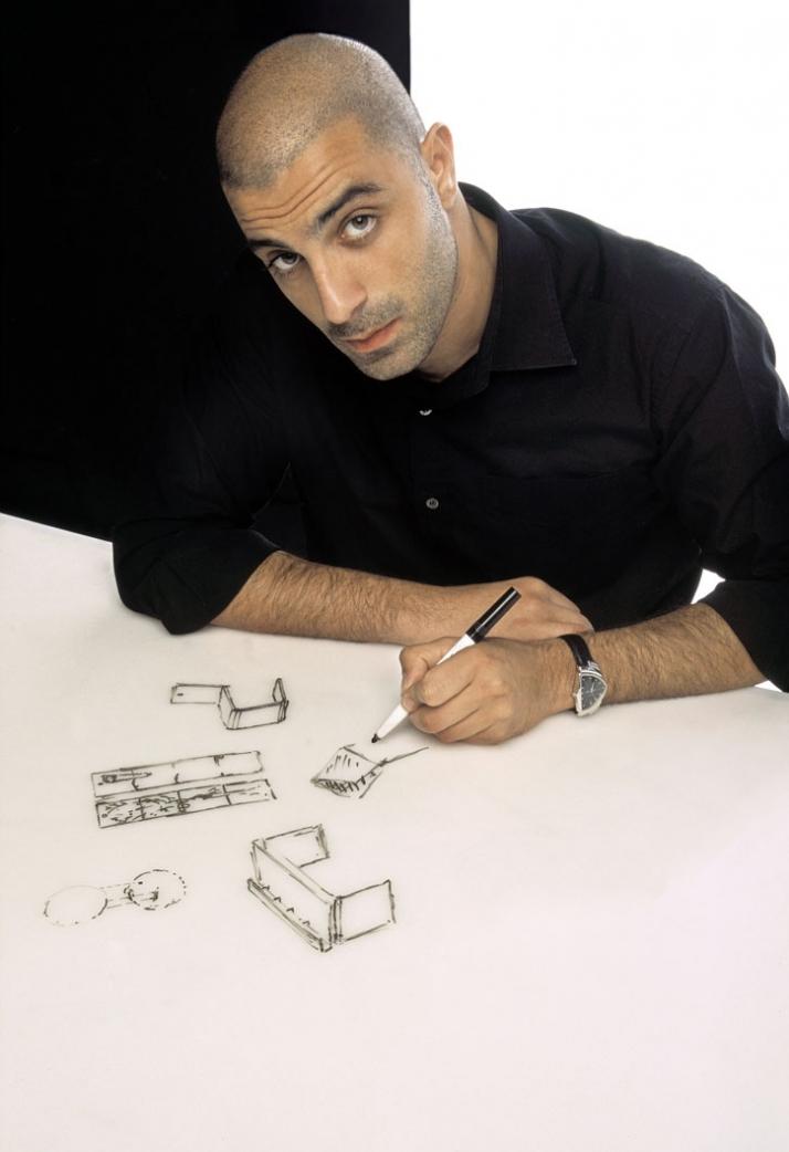 portrait of Dror Benshetrit// © Dror Studio