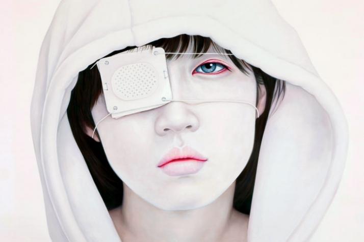 Adios 194X130cm oil on canvas (c) Kwon Kyung Yup, 2009