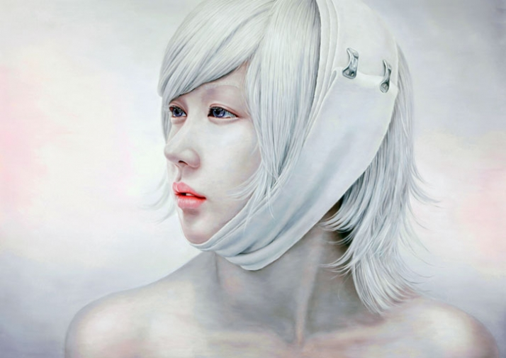 Bleached Memory 227.3X162cm oil on canvas (c) Kwon Kyung Yup, 2009