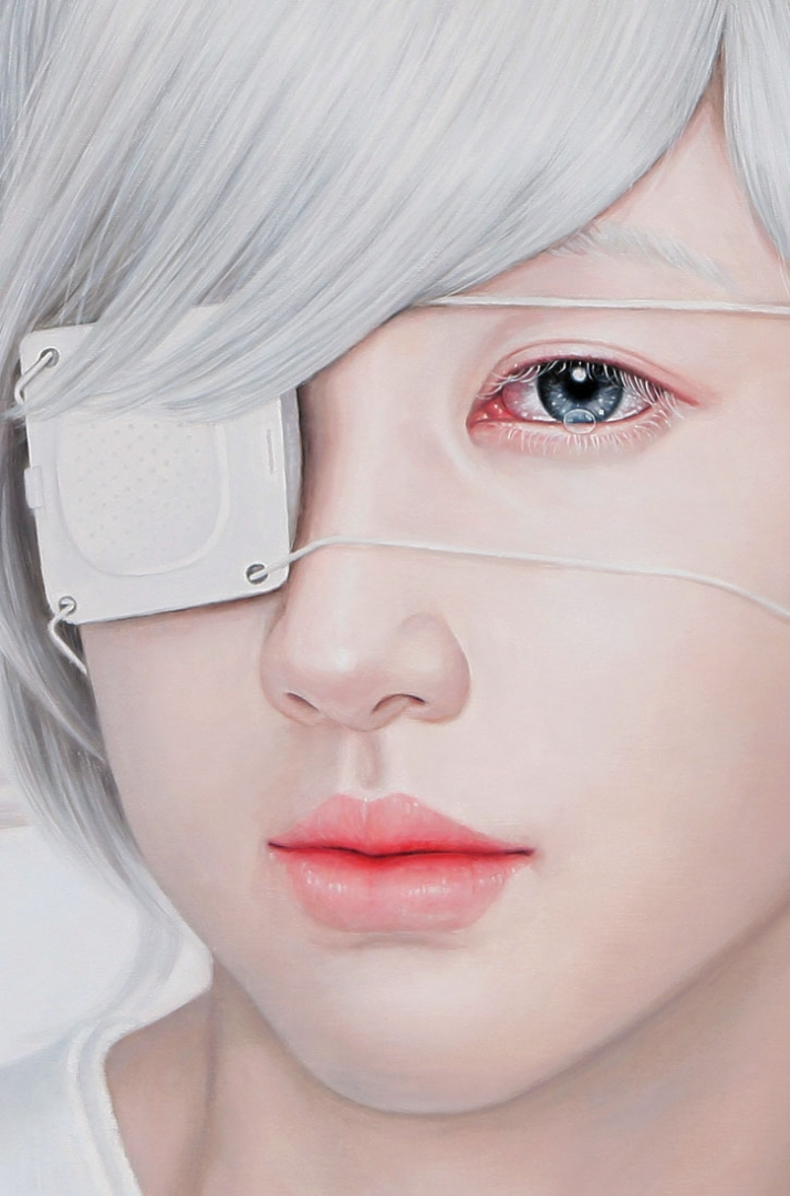 Chamber of memory (detail) 116.8X91cm oil on canvas (c) Kwon Kyung Yup, 2010