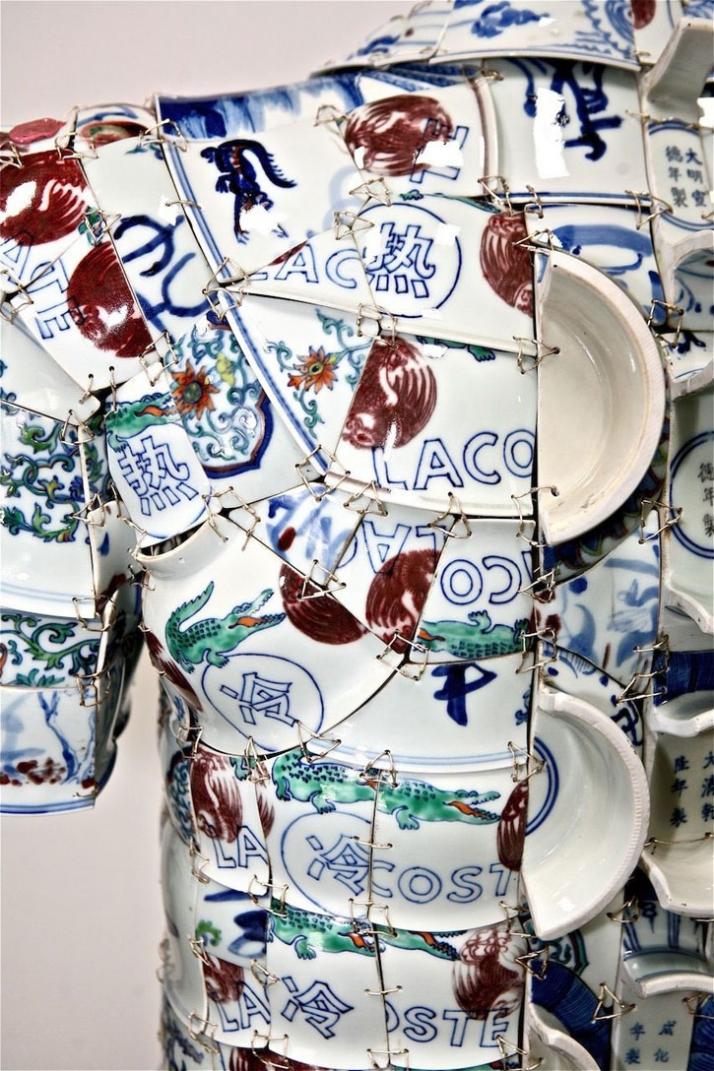 Porcelain POLO (detail) // photo (c) Miko He