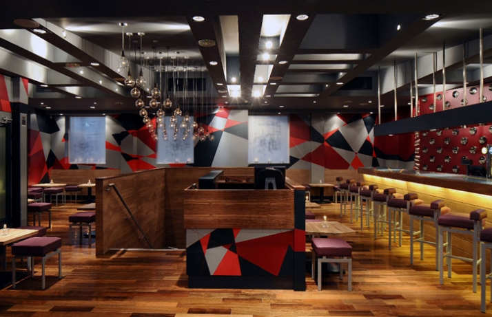 Bangalore Express Bar, LONDON Lead designer // Outline Category //  Multiple bar or club