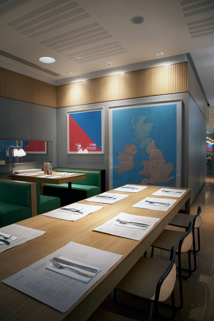 Canteen, LONDON Lead designer // Canteen (In-house design) Category // Multiple resta