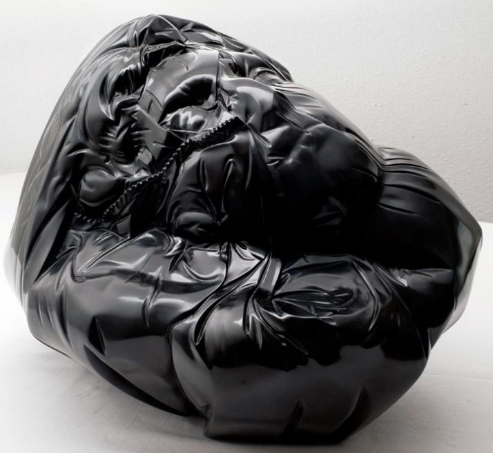 Plastic Medici, 2008, marble, 34 x 48 x37 cm Courtesy of Galleria Rubin (c) Affiliati Peducci/Savini, photo by Martino Gerosa