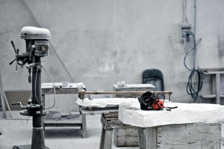 making  of ,  (c) Affiliati Peducci/Savini, photo by Martino Gerosa