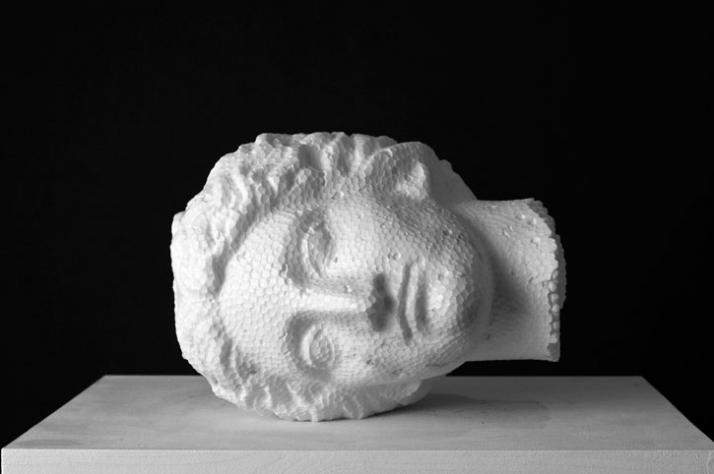 Foam Aphrodite, 2009, marble, 23 x 20 x 28 cm Courtesy of Galleria Rubin (c) Affiliati Peducci/Savini, photo by Martino Gerosa