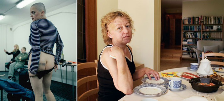 "(left) Kasia and (right) Mother ""Traces""photo (c) Zuza Krajewska & Bartek Wieczorek"