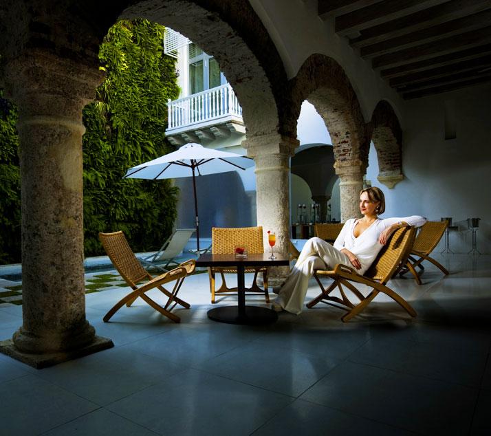 Image Courtesy of  Tcherassi Hotel & Spa // portrait of  Silvia Tcherassi