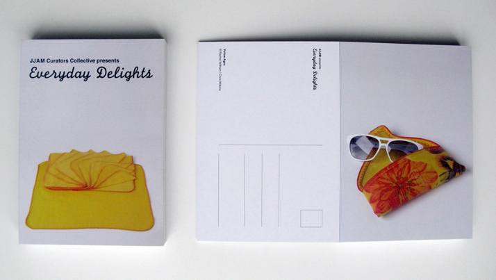 Postcard & Book of Everyday Delights, photo by Richard Bowyer