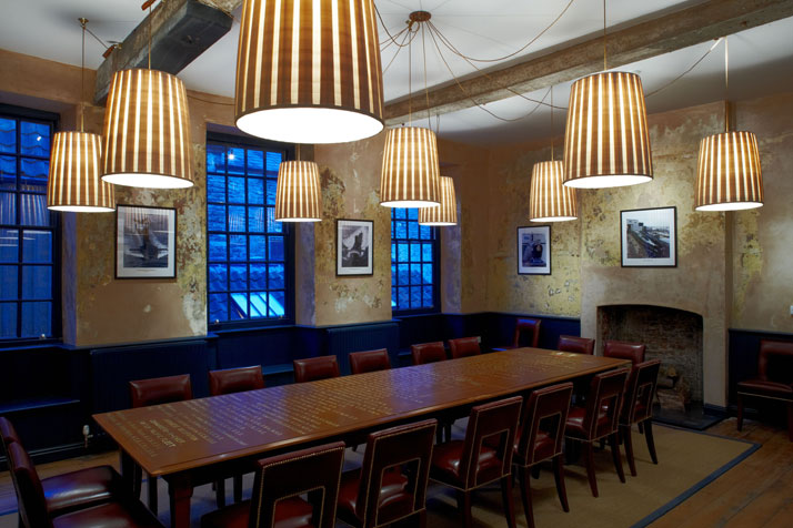 The Naval Room, photo by Iain Kemp