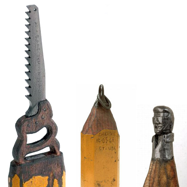 The pencil sculptures of dalton ghetti yatzer