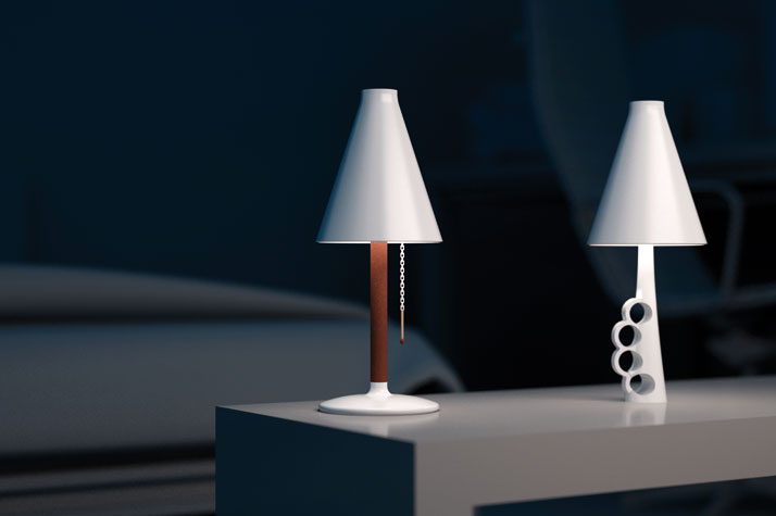 """not a lamp"" series by estres Estudio"