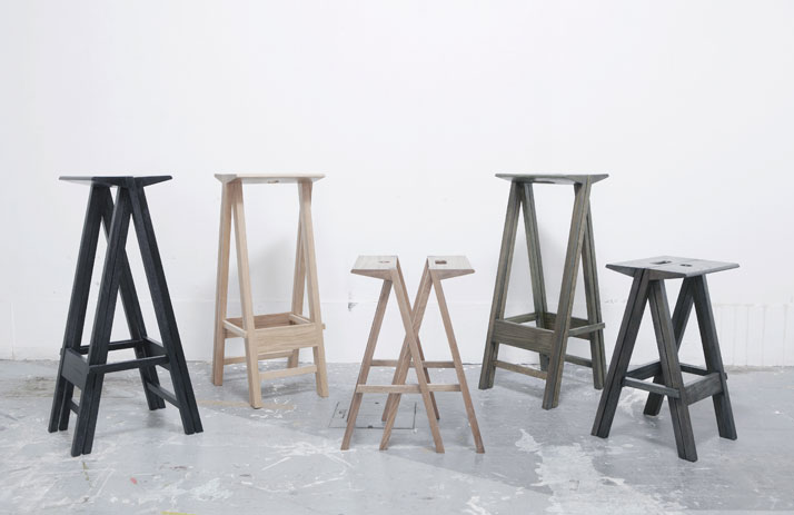 Stool for Two by Yuya Kurata