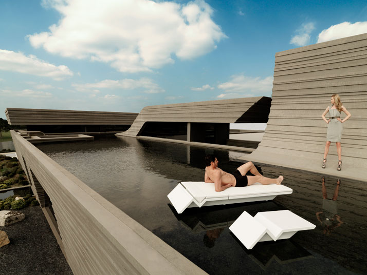 REST by Studio A-cero (Joaquín Torres and Rafael Llamazares) for VONDOM