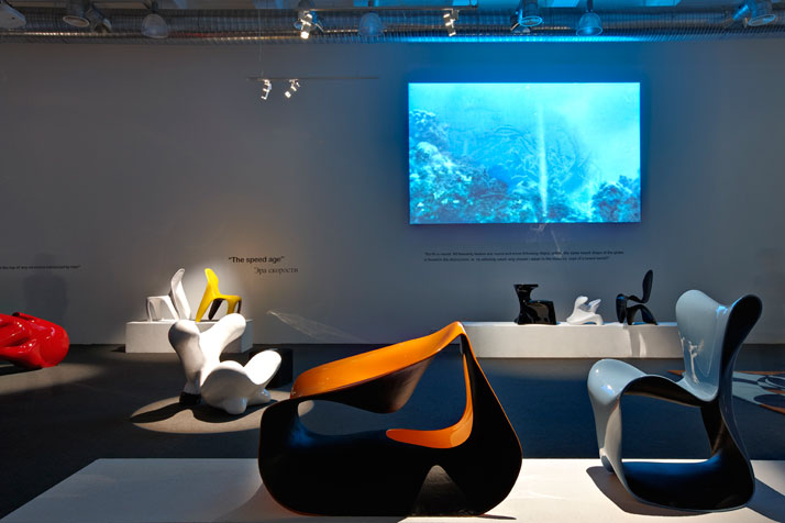 Luigi Colani designs // Image Courtesy of Studio NOVEMBREphoto (c) Pasquale Formisano