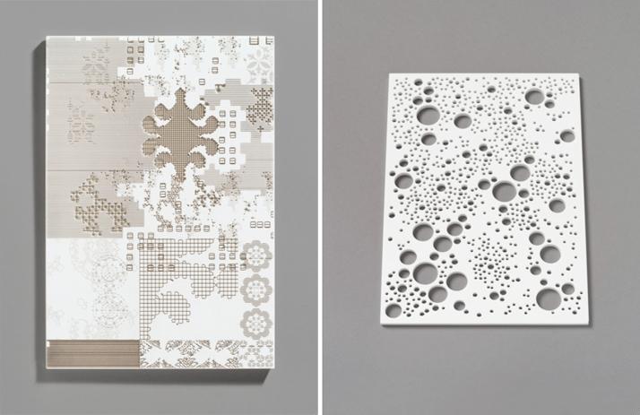 Carte Blanche by Patricia Urquiola, (right) Constellation by Arik LevyPhotos © Tom Powel Imaging.