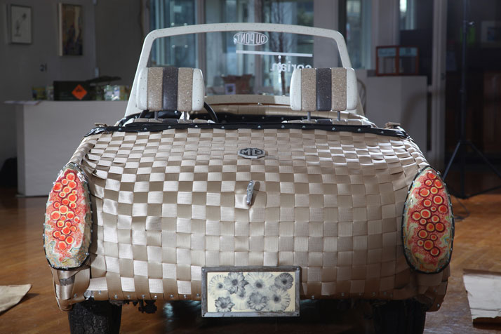Woven Car by Ann Conte and Jeanne WileyPhotos (c) Gary Higgins Photography for DuPont