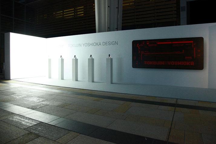 The installation during Tokyo Design Week 2010 at Tokyo Midtown, Roppongi.Image Courtesy of Tokujin Yoshioka