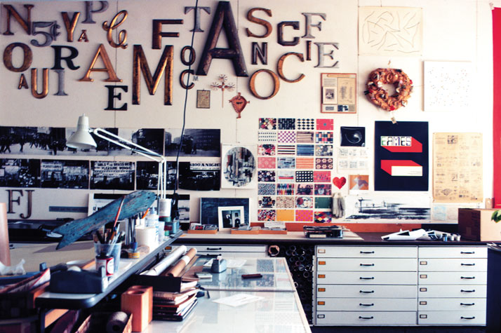 The graphic room © 2010 Eames Office LLC, from the Collections of the Library of Congress