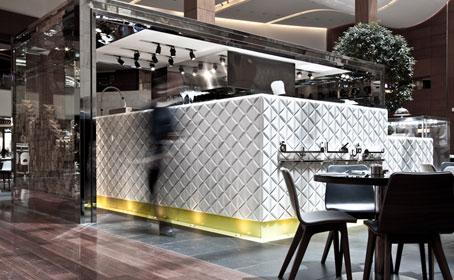 Posh café by Jassim Al Shehab in Kuwait
