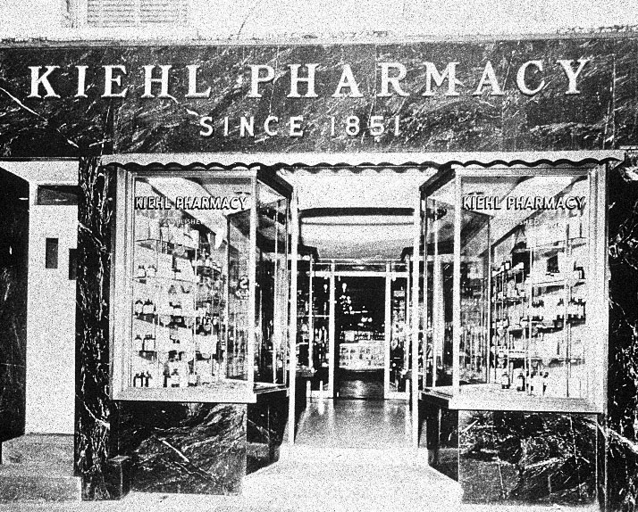 Kiehl Pharmacy, Image Courtesy of Kiehl's