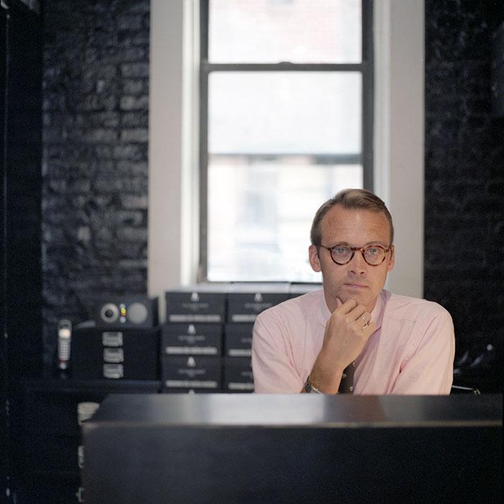 Designer and creative director, Derrick Miller // Image Courtesy of Barker Black Ltd.