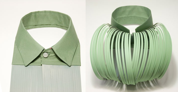 Bird&Seduction collar, Image Courtesy of Camille Cortet