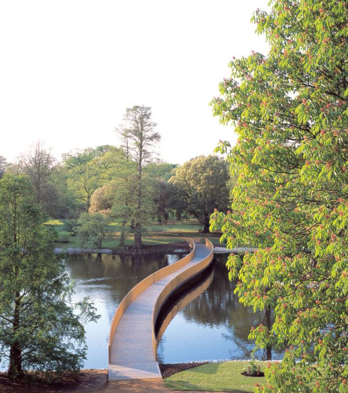 John Pawson - Plain SpaceSackler Crossing. Royal Botanic Gardens, Kew, London.Photo Richard Davies