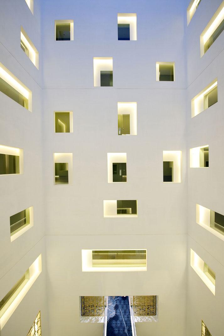 Atrium Image Courtesy of Mandarin Oriental Hotel Group photo © George Apostolidis