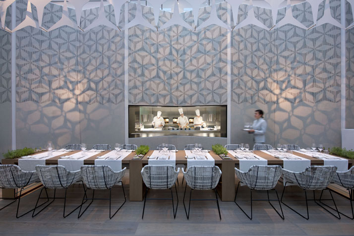 Restaurant Blanc Kitchen Image Courtesy of Mandarin Oriental Hotel Group photo © George Apostolidis