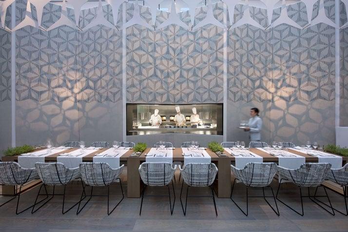 Restaurant Blanc Kitchen Image Courtesy of Mandarin Oriental Hotel Group photo © George Apostolidis