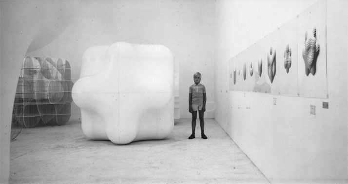 Slothouber & Graatsma, Venice Biennial 1970, Dutch pavillion