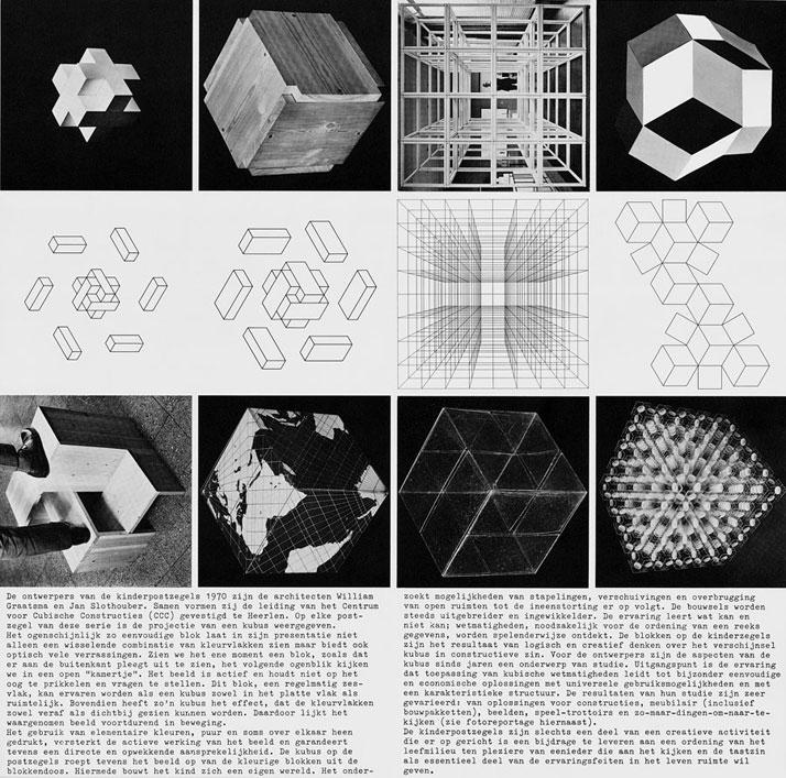 Slothouber & Graatsma, poststamps 1970