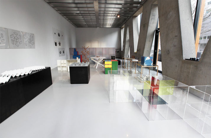 overview Cubics, VIVID Gallery Rotterdam, photo: Yves Krol