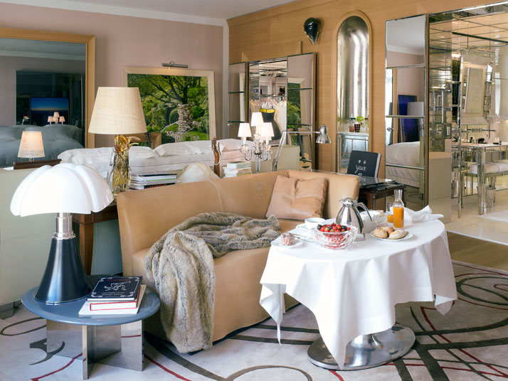 The suite of Le Royal Monceau Crédits Photo : Philippe Garcia/LaSociétéAnonyme