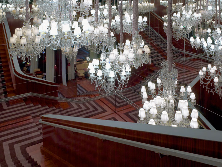 The Royal staircase of Le Royal MonceauCrédits Photo : Philippe Garcia/LaSociétéAnonyme