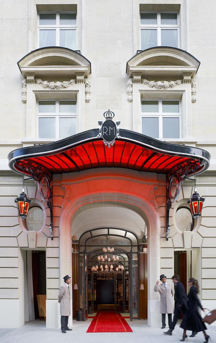 Le Royal Monceau - 37 avenue Hoche - ParisCrédits Photo : Philippe Garcia/LaSociétéAnonyme