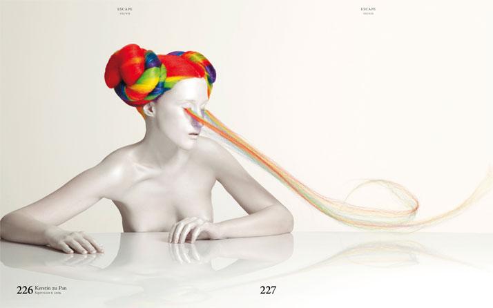 Kerstin zu Pan, Supervision 6, 2009.Book-spread, Courtesy of Gestalten