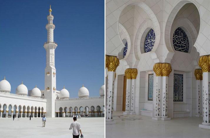 Sheikh Zayed Bin Sultan Al Nahyan Mosque, ABU DABI photo © Iznik Foundation