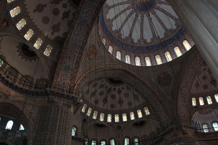 "Sultanahmet Mosque (most famous as the ""Blue Mosque"")photo © Costas Voyatzis for Yatzer.com"