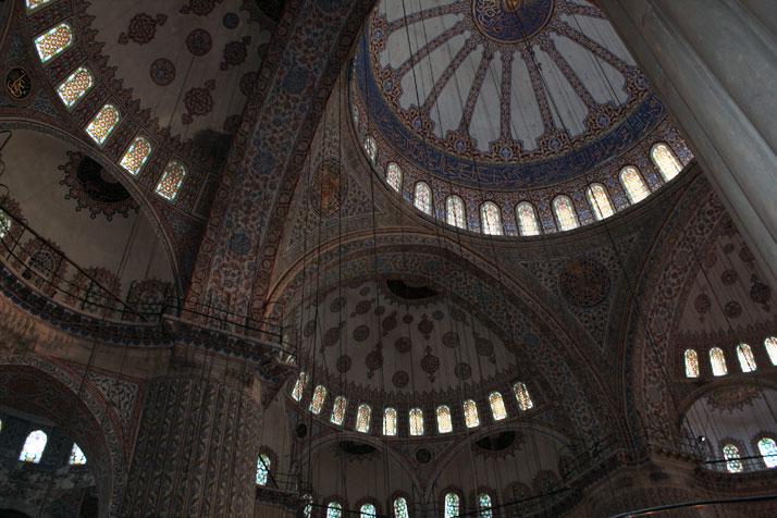 "Sultanahmet Mosque (most famous as the ""Blue Mosque"")photo © Costas Voyatzis for Yatzer.com"